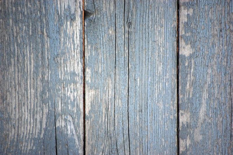 Rotten tavole di legno