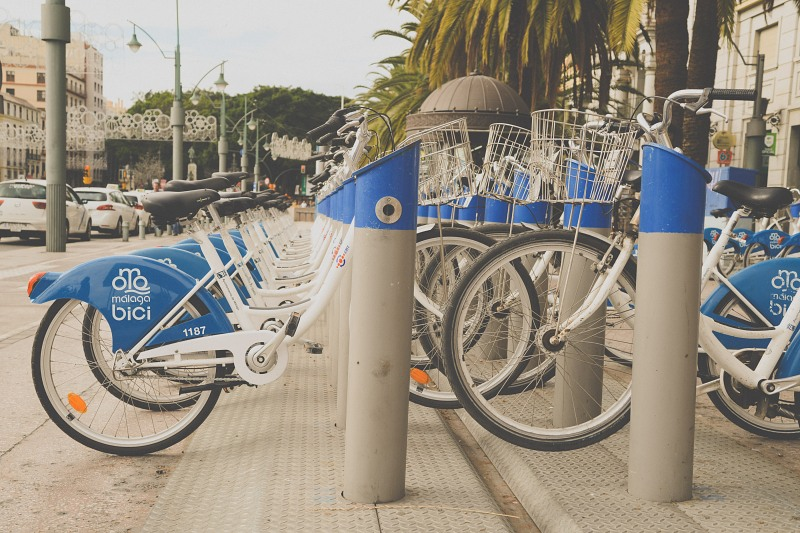 Blue city rent bikes