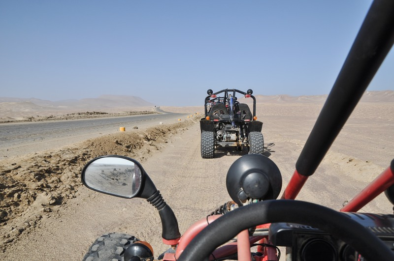Desert buggy ride