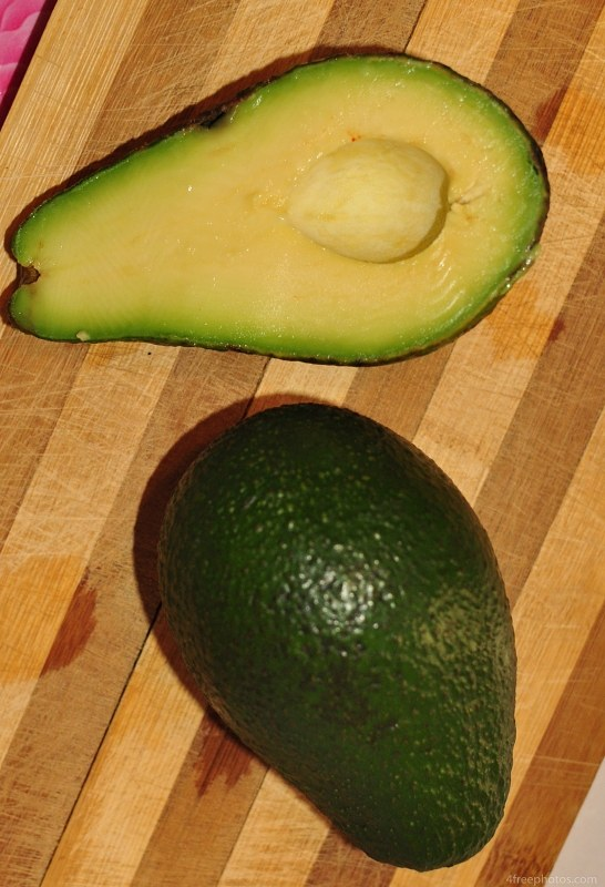 Fresh avocado fruits