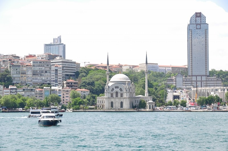 Istanbul city buildings