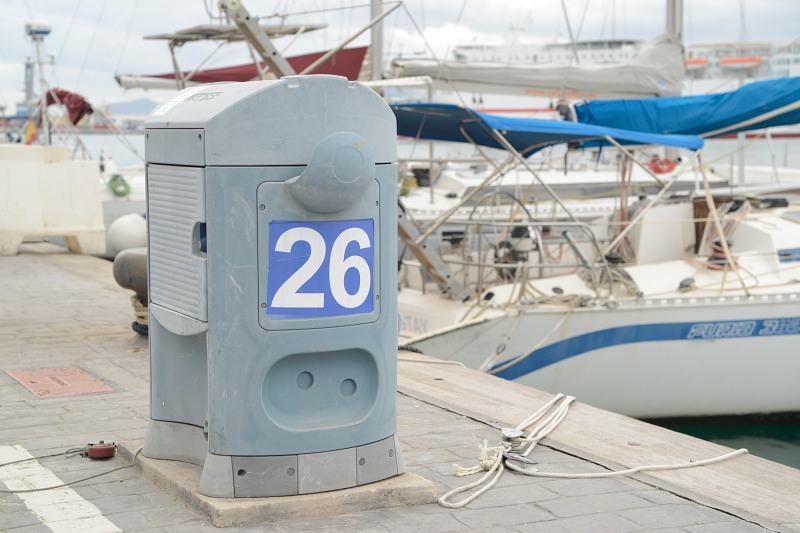 Numbered postion on docks