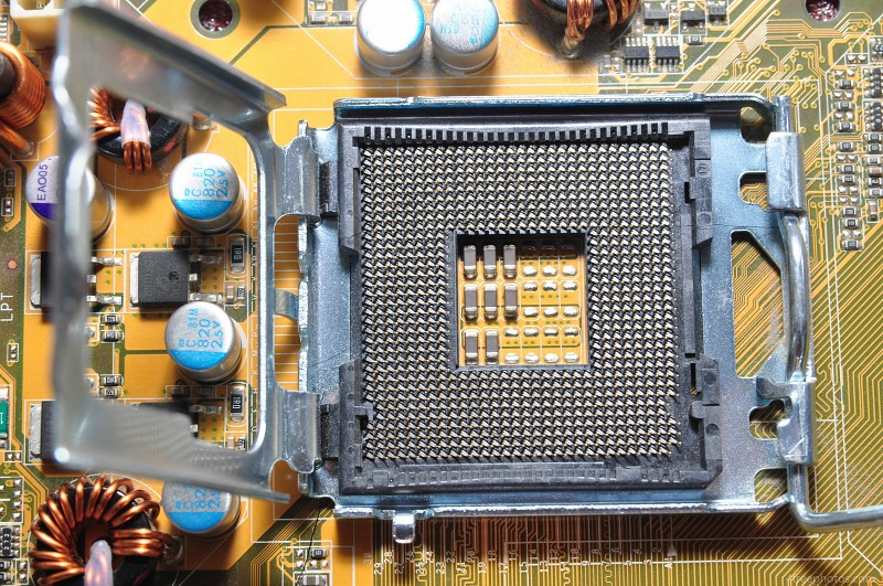Processor socket en pinnen