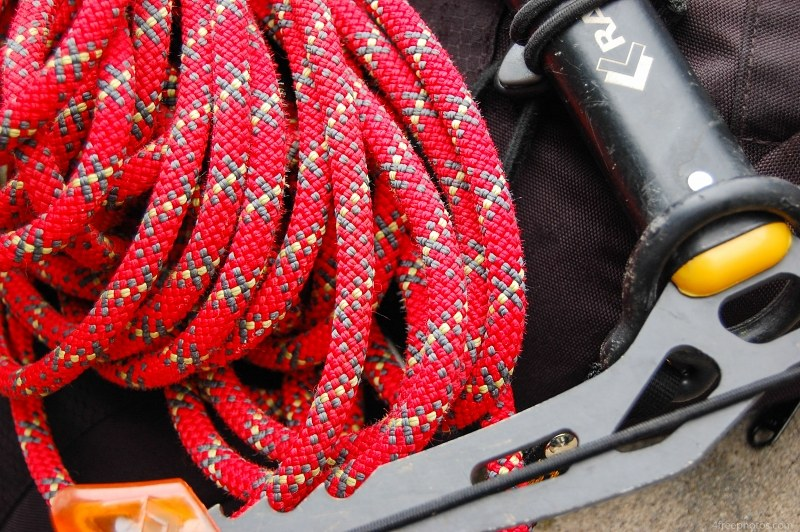 Rope and climbing gear