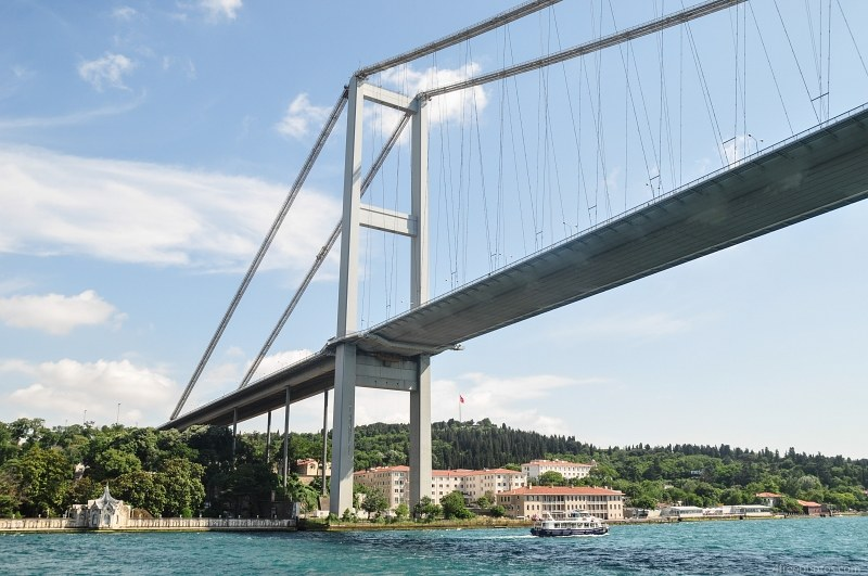 Suspension bridge Bosphorus