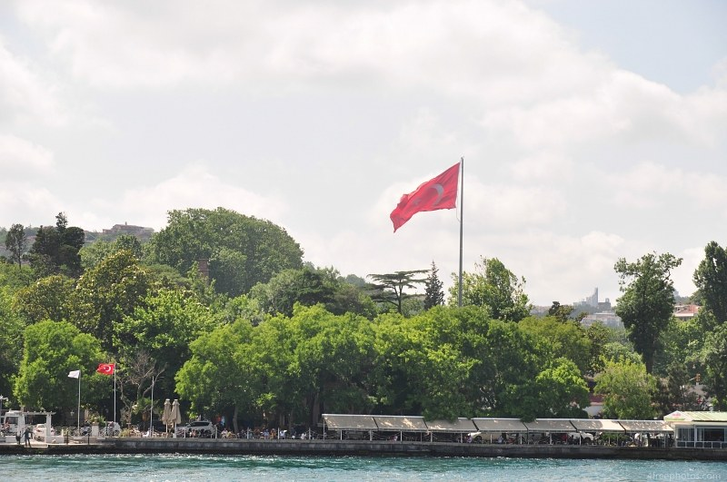 Turkish flag park