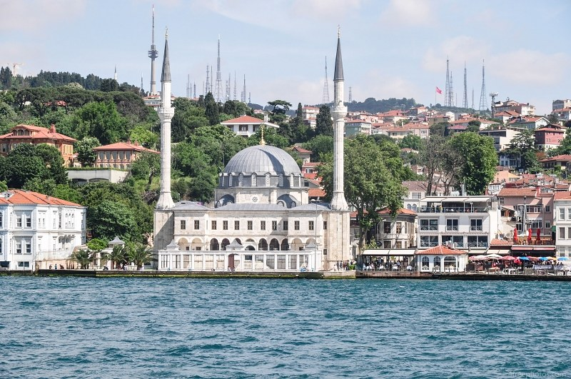 Turkish mosque Bosphorus