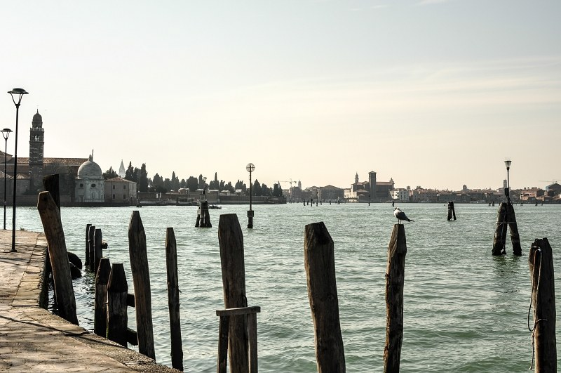 Venice seen from Murano