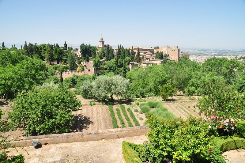 Alhambra palace and gardens