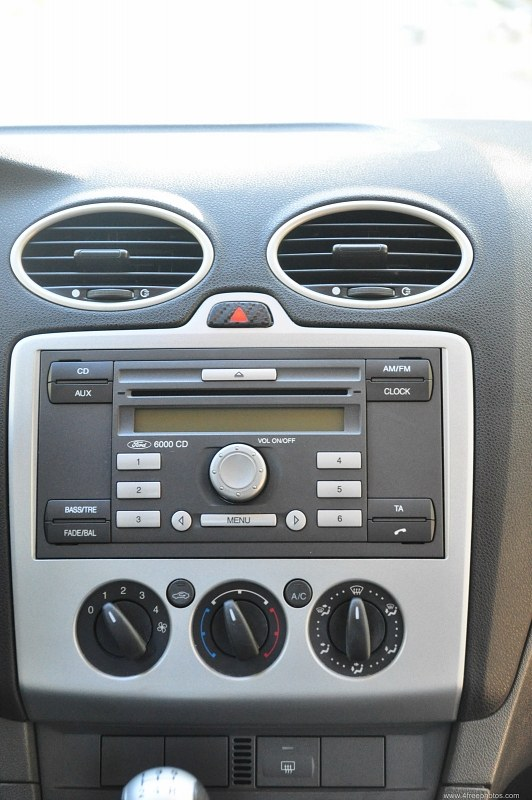 Car central console