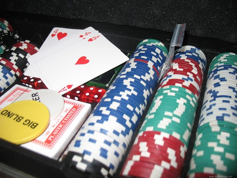 Casino chips and cards - Free Image on 4 Free Photos