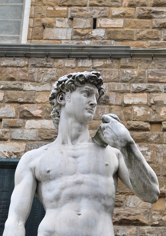 David sculpture in Florence