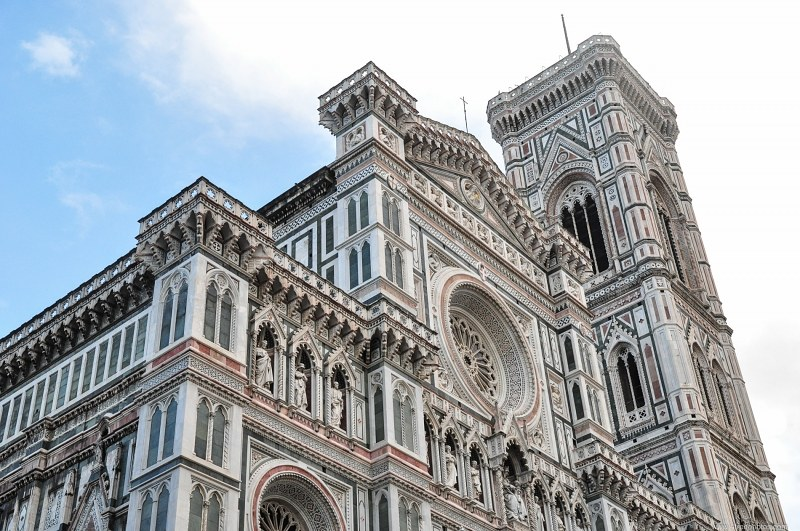 Florence cathedral bell tower