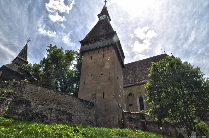 Fortified medieval church