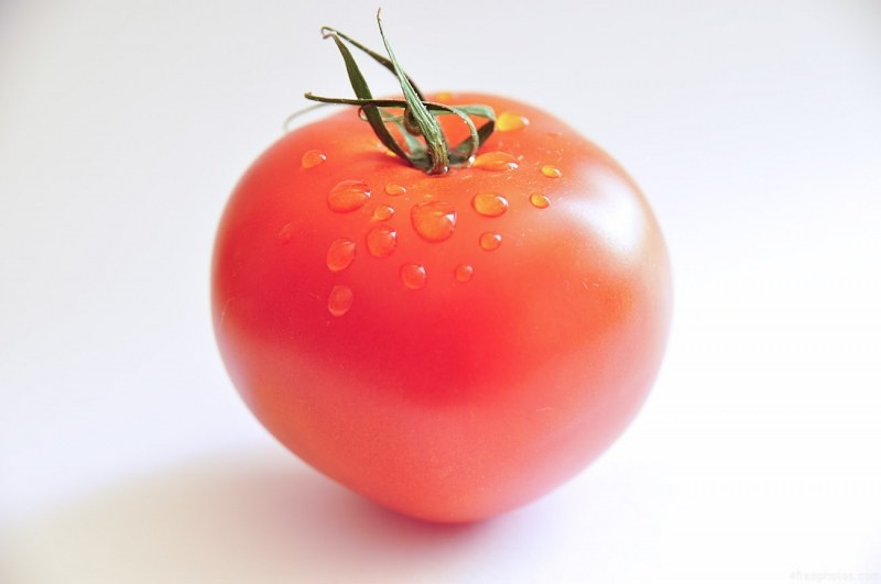 Fresh read healthy tomato