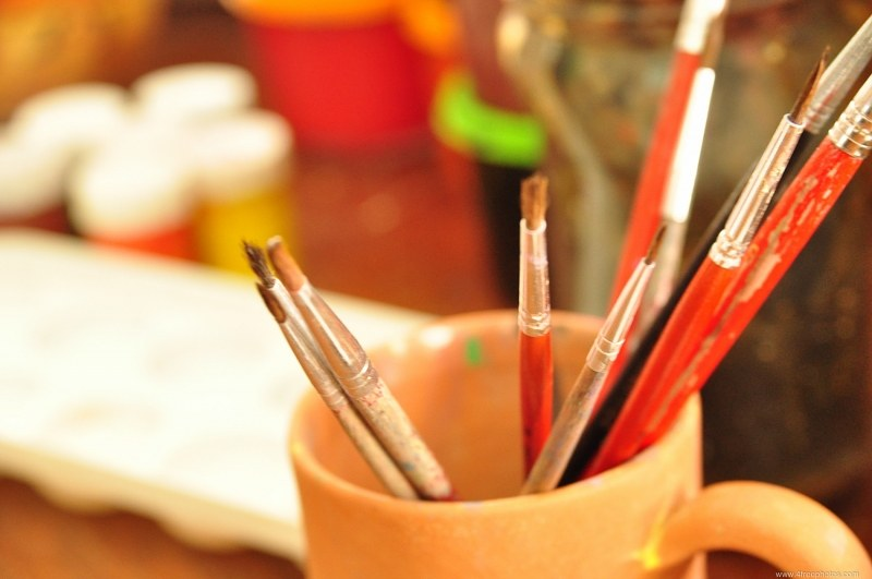 Painiting brushes