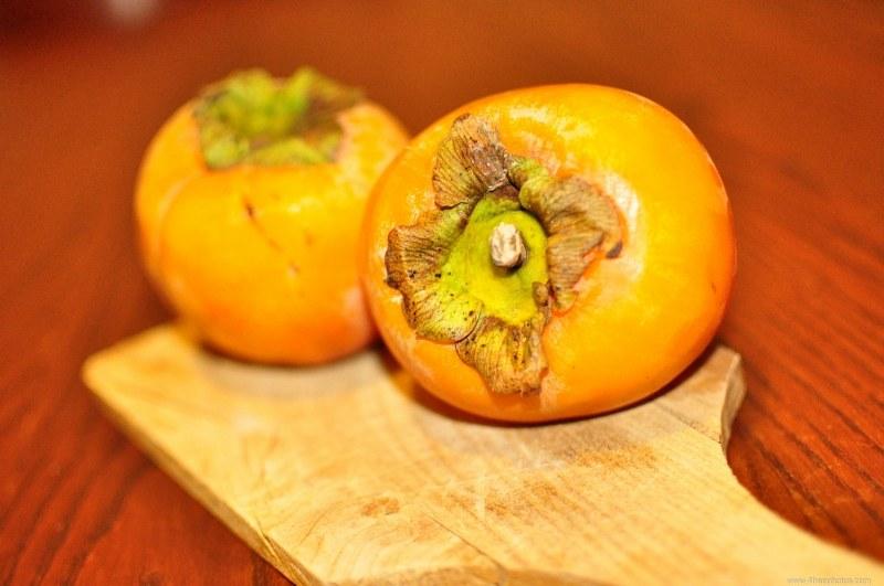 Persimmon fruits 4 free photos for Cachi persimon