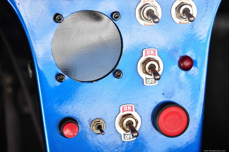Push buttons and switches