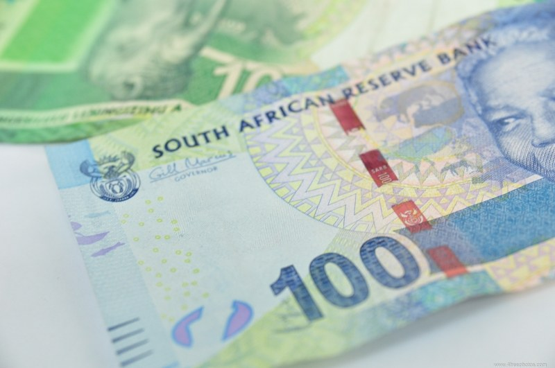 South Africa rands