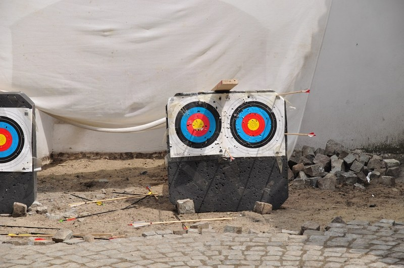 Targets for shooting with arrows