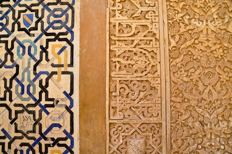 Wall ornament in arabic style
