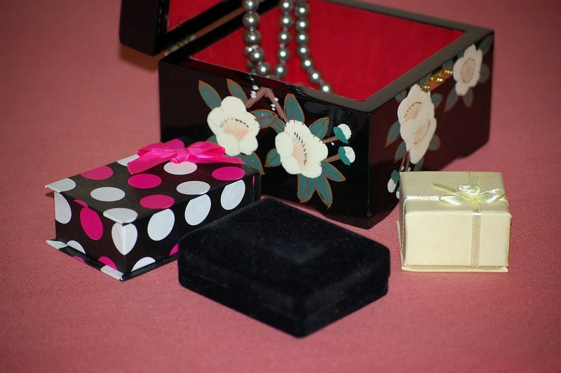 Gift and Jewelry Boxes