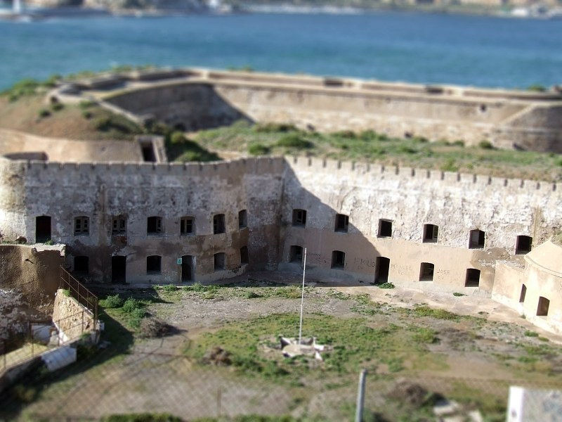 Old Fort am Meer