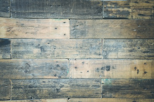 Aged wood floor boards