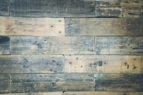 Aged wood floor boards