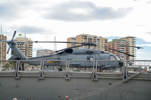 Army helicopter ship deck