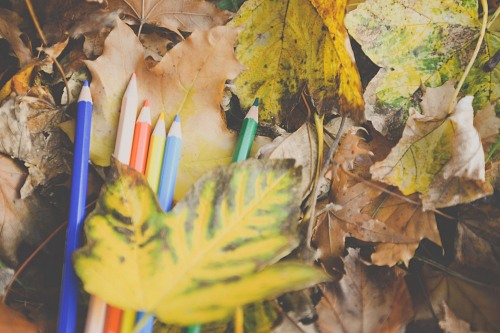 Autumn school colors