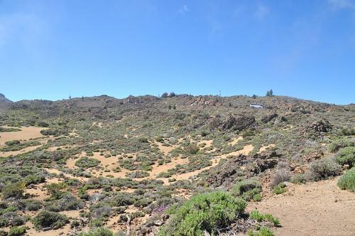 Barren arrid landscape