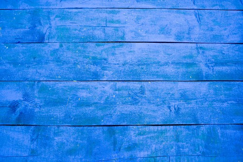 Blue old wood boards texture