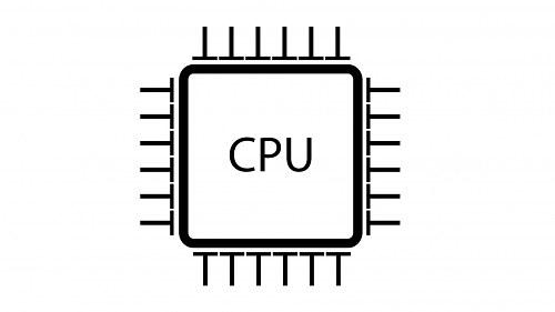CPU icon illustration