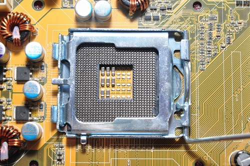 CPU socket detail