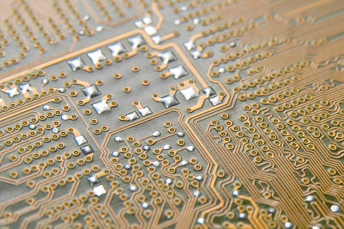 Circuit board contacts