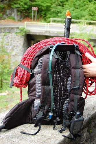 Climbers backpack
