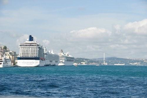 Cruise ships Istanbul