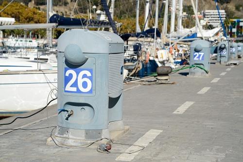 Docks pier number