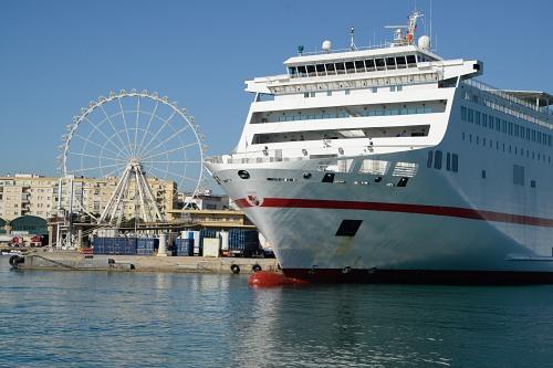 Ferryboat in Malaga Port