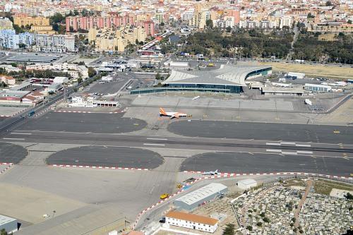 Gibraltar airport terminal building