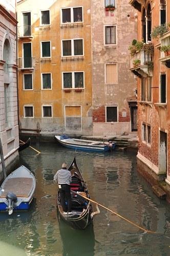 Gondola on canal