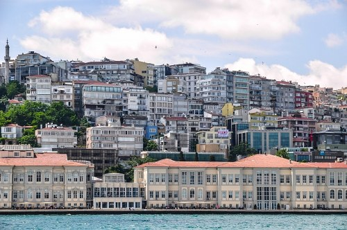 Istanbul city architecture