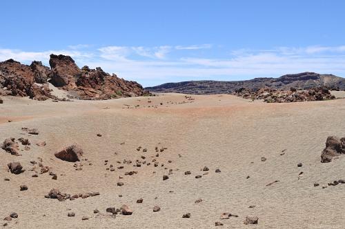 Lava landscape teide
