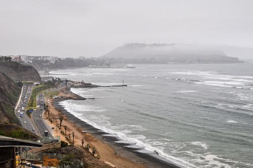 Lima Peru coast