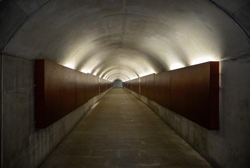 Long concrete tunnell