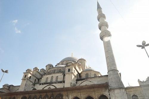Mosque minaret sky