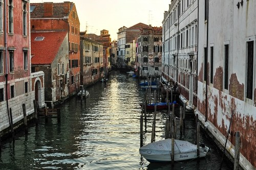Old venice town