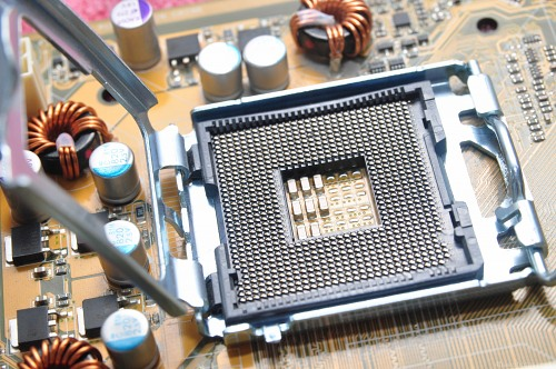 Open cpu socket
