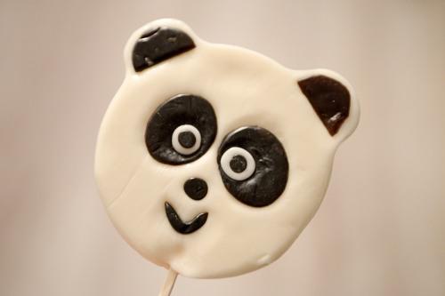 Panda bear candy